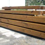 La Dg legnami produce e vende travi in legno massello di castagno