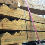 La Dg legnami vende travi lamellari di abete